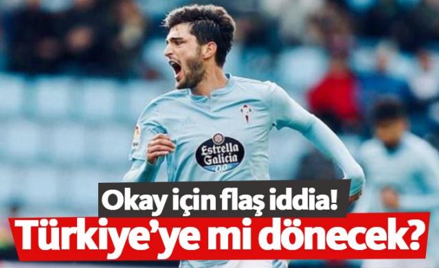 Trabzonspor'da gösterdiği başarılı performans sonrası Celta Vigo'ya transfer olan Okay Yokuşlu için yeni bir transfer iddiası ortaya atıldı.