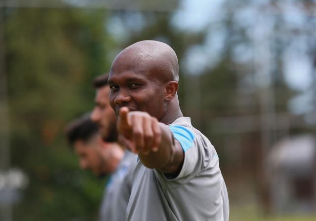 Trabzonspor'da sabah antrenmanı tamamlandı - 14.07.2019