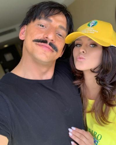YouTuber Vitaly Zdorovetskiy ve sevgilisi Kinsey Wolanski Brezilya ile Peru arasında oynanan final için sahaya girme planları yaparken güvenlik görevlileri tarafından yakalanmıştı.