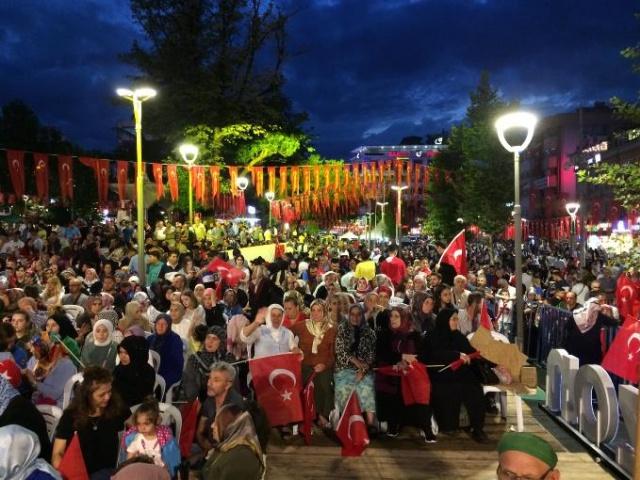 Trabzon'da 15 Temmuz Programı