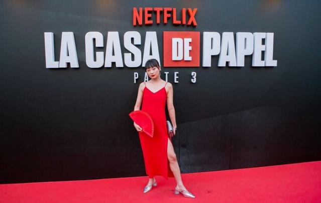 La Casa de Papel'in galası yapıldı