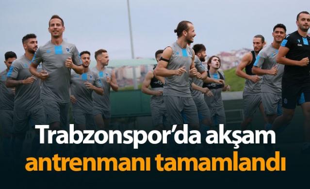 Trabzonspor'da akşam antrenmanı tamamlandı - 16.07.2019