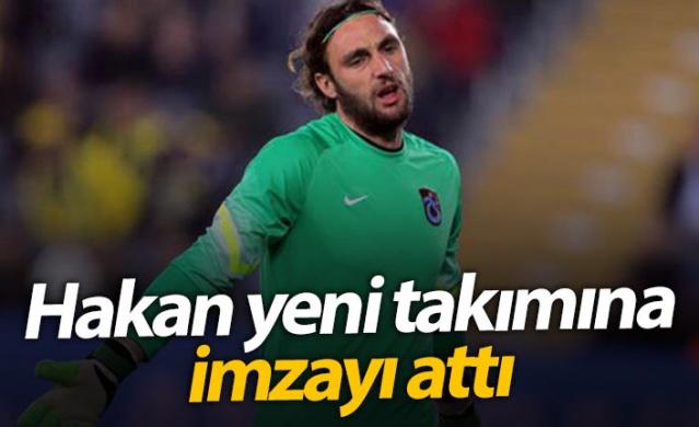Trabzonspor'da bir dönem forma giyen Hakan Arıkan Kayserispor'a imza attı