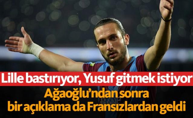 Bordo-Mavili camiada gündem Yusuf Yazıcı... Fransız ekibi Lille, Trabzonspor'un 'öz evladı' olan ve hem saha içi hem de saha dışında yaptıkları ile taraftarın sevgilisi haline gelen 22 yaşındaki futbolcuyu kadrosuna katmak istiyor.