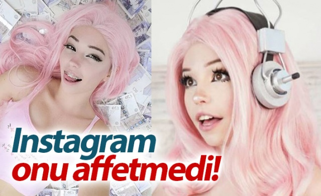 Instagram'da 4.5 milyonu aşkın takipçisi olan Belle Delphine, bu hesabını saniyeler içinde kaybetti.