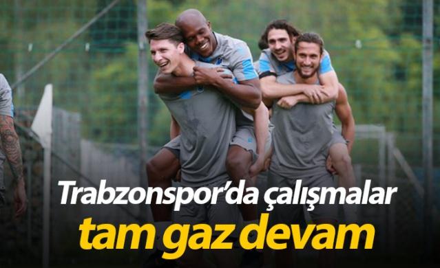 Trabzonspor'da çalışmalar sürüyor - 21.07.2019