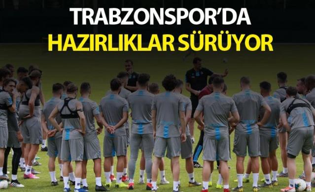 Trabzonspor'da hazırlıklar sürüyor.