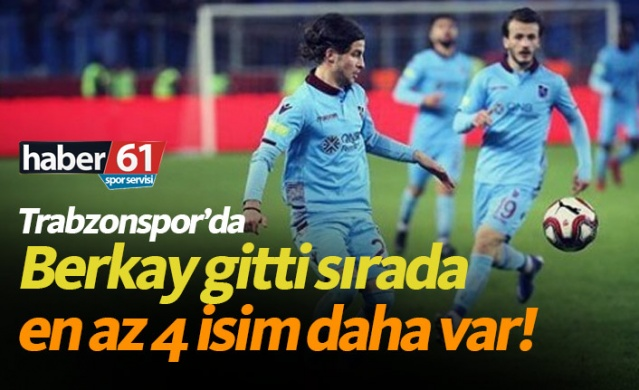 Trabzonspor'da 4 futbolcu daha gidecek!