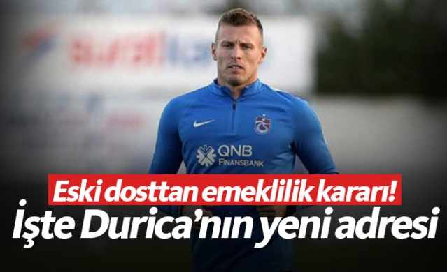 Trabzonspor'un eski futbolcusu Jan Durica, aktif futbolculuk hayatını sonlandırdı. Bordo-mavili ekiple yollarını ayırdıktan sonra Çekya'nın Dukla Prag ekibine giden ve bir süre burada top koşturan Slovak futbolcu, bu sezonun bitimiyle birlikte kulüpsüz kalmıştı.