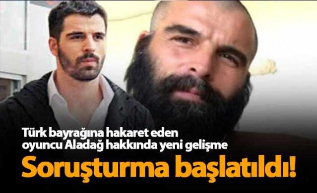 Oyuncu Mehmet Akif Alakurt, sosyal medyada Türk bayrağına 'Rıfkı cumhuriyetinin bayrağı' diye hakaret etti, savcılık soruşturma başlattı.