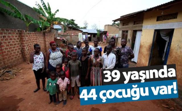 39 yaşındaki kadının 44 çocuğu var!