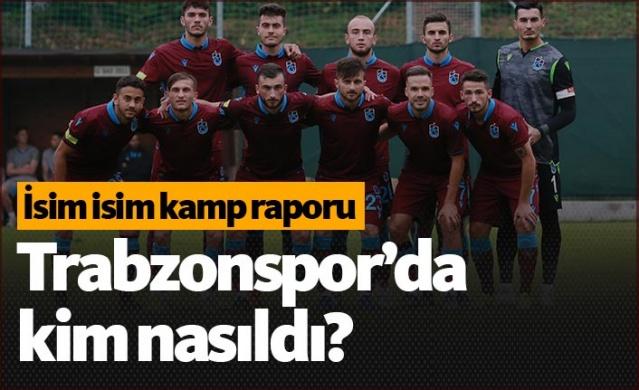 20 Temmuz tarihinden itibaren ikinci etap kamp çalışmalarını Avusturya'nın Linz kentinde gerçekleştiren Bordo- Mavili takım, Hellas Verona ile oynadığı hazırlık maçıyla 10 günlük kampını 12 antrenman ve 4 maçla tamamladı. Geçen sezon yabancı oyuncularının skor yükünü çektiği takımda, bu sezon öncesi hazırlık maçlarında yerli oyuncular gollere damga vurdu. Forvet sıkıntısı çeken ve eksikleri olan Trabzon'da oyuncuların kamp performansı ise şu şekildeydi: