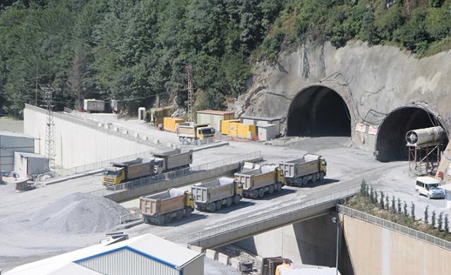 Zigana Tuneli Nde Yuzde 63 Seviyesine Ulasildi