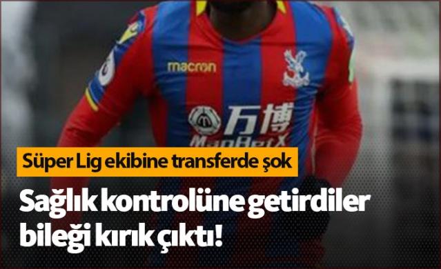 Yukatel Denizlispor, Premier Lig ekiplerinden Crystal Palace'dan kadrosuna kattığını açıkladığı Bakary Sako'nun transferinden vazgeçti.