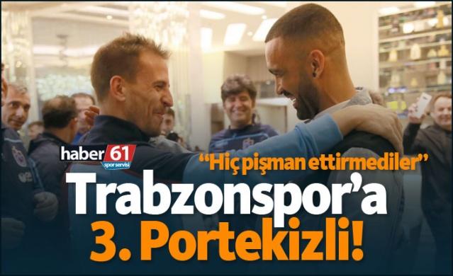 HABER61 - SPOR SERVİSİ  Transfer çalışmalarını sürdüren Trabzonspor, sabah erken saatlerde Trabzon'a getirdiği genç stoper Ivanildo Fernandes ile bugün sözleşme imzalaması bekleniyor.