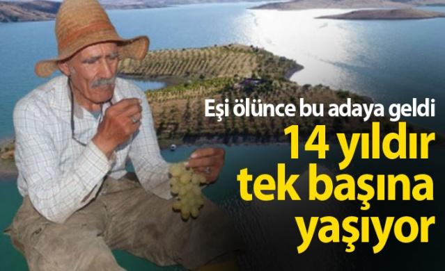 Uzun yıllar Eskişehir'de antikacılık yapan 4 çocuk babası Ziya Abay (80), 1995 yılında eşi Emine Abay'ı trafik kazasında kaybetti.