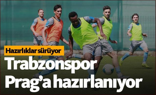 Trabzonspor, UEFA Avrupa Ligi 3. ön eleme ilk tur maçında karşılaşacağı Sparta Prag maçı hazırlıklarına devam ediyor.