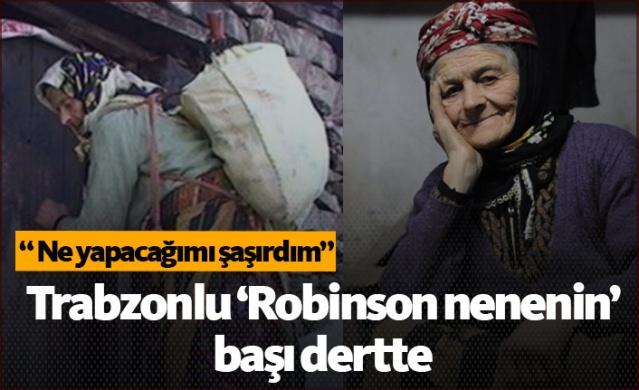 """Trabzon'un Tonya ilçesinde yeğeninin ölümünden sonra küstüğü köyüne dönmeme kararı alıp yaz-kış 1900 rakımlı Karakısrak Yaylası'nda tek başına yaşayan ve yörede 'Robinson Nine' olarak tanınan Fadime Kayacı'nın (84), son günlerde kaldığı ormanlık alandaki evinde başı ayılarla derde girdi. Yayla evine dadanan ayılarla mücadele eden Kayacı,""""Üç kere ayı kapımı kırdı, evime geldiğimde kapımı açık buldum. Ne yapacağımı şaşırdım. Ama yinede korkmuyorum"""" dedi."""