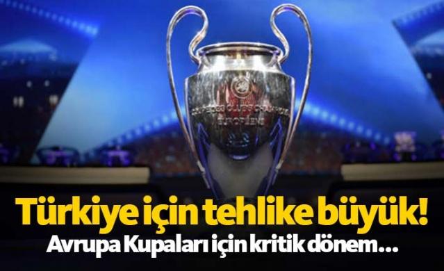 UEFA Ülkeler Sıralaması'nda 10. sırada yer alan Türkiye, ülke şampiyonunun Şampiyonlar Ligi'ne direkt grup aşamasından katılabildiği son basamakta yer alıyor. Hollanda ve Avusturya geçen sezon arayı kapatırken, temsilcilerimizin bu sezon iyi sonuçlar alması gerekiyor