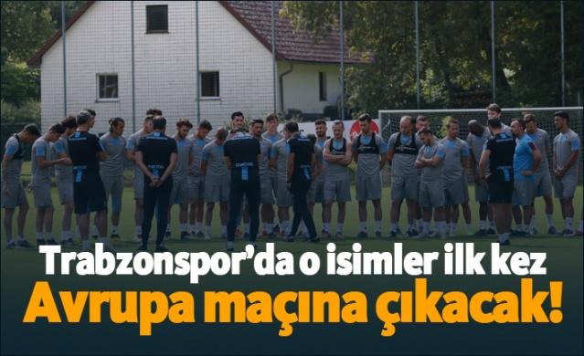 HABER61 - SPOR SERVİSİ  Trabzonspor'da Sparta Prag maçının kadrosunun açıklanmasının ardından gözler ilk kez Avrupa maçına çıkacak oyunculara çevrildi.  Bordo-Mavililer'de 20 kişilik kamp kadrosunda 10 oyuncu ilk kez Avrupa deneyimi yaşayacak.  Resmi kadrosunda A Takımda bulunan isimlerden en tecrübelisi John Obi Mikel oldu.  Mikel Avrupa'da tam 3 kez kupa kaldırırken, 58 Şampiyonlar Ligi, 4 kez de UEFA Avrupa Ligi'nde mücadele etti.  Takımda görev yapan Ekuban, Sörloth, Yusuf Sarı (Kadroda bulundu), Andjusic, Avdijaj, Nwakaeme, Jose Sosa, Doğan Erdoğan, Onazi, Pereira, Novak ve Uğurcan Avrupa'da en az bir maça çıkmış isimlerden oldular.  İşte Sparta Prag maçı ile ilk Avrupa deneyimi yaşayacak isimler: