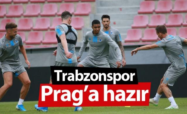 Trabzonspor, UEFA Avrupa Ligi 3. ön eleme ilk tur maçında deplasmanda karşılaşacağı Sparta Prag maçı hazırlıklarını tamamladı.