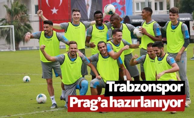 Trabzonspor UEFA Avrupa Ligi 3. eleme turu rövanşında oynayacağı Sparta Prag maçı hazırlıklarımız devam ediyor.
