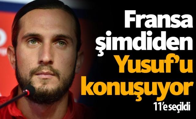 Trabzonspor'dan 16.5 milyon Euro + bonuslarla Fransız ekibi Lille'in yolunu tutan Yusuf Yazıcı Fransa'da şimdiden gündem olmaya başladı. Lille takımının en pahalı transferi unvanını elinde bulunduran milli futbolcu büyük ilgi görüyor. 22 yaşındaki yıldız futbolcu transferin 11'ine seçildi. İşte dünya yıldızlarının olduğu o ilk 11..