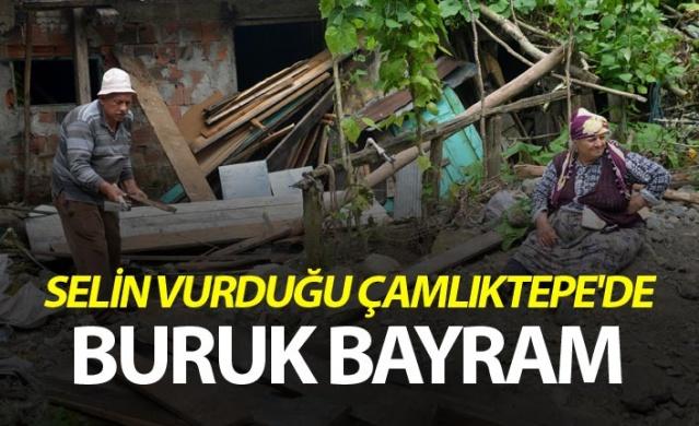 Selin vurduğu Çamlıktepe'de buruk bayram.