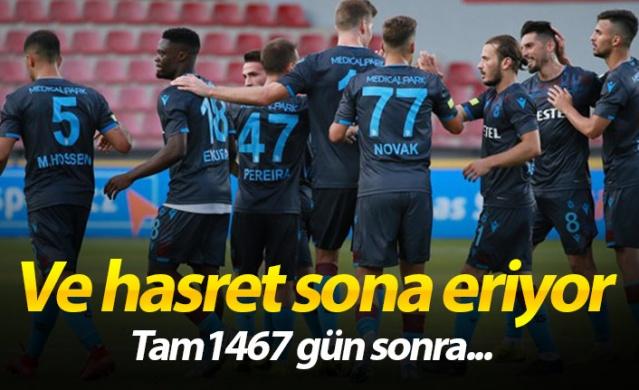 UEFA Avrupa Ligi 3. Ön Eleme Turu mücadelesinde yarın sahasında Çekya'nın Sparta Prag takımıyla 2-2'nin rövanşında karşılaşacak olan Trabzonspor, 1467 gün sonra taraftarı önünde Avrupa maçına çıkacak. Bordo-mavililer ayrıca ilk kez yeni stadyumunda bir Avrupa maçı oynayacak.