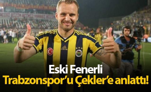 Bir dönem Fenerbahçe'de forma giyen Çek futbolcu Michal Kadlec, Trabzonspor'un UEFA Avrupa Ligi 3. Eleme Turunda karşılaşacağı Sparta Prag için Çek basınına Trabzon ve Türkiye değerlendirmesinde bulundu.