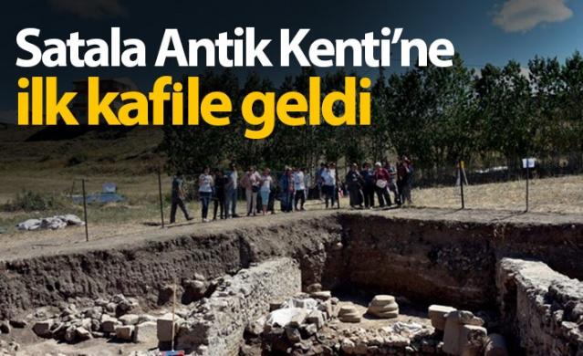 Roma'nın 15. Lejyonunun yaklaşık 600 yıl hüküm sürdüğü ve İmparatorluğun Doğu sınırında günümüze kadar ulaşabilmiş dünyadaki tek lejyon kalesi olan Satala Antik Kentine ilk turist kafilesi Konya'dan geldi.