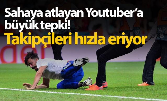 Liverpool ile Chelsea'nin karşılaştığı UEFA Süper Kupa Finali'nde sahaya giren Deli Mi Ne isimli kanalı bulunan Youtuber Ali Abdüsselam Yılmaz, saniyede 20 takipçi kaybediyor.