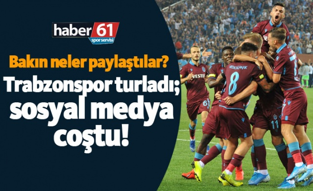 Trabzonspor - Sparta Prag maçı sonrası sosyal medya coştu!