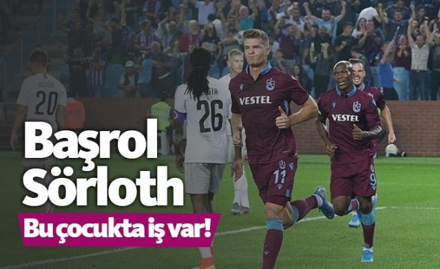 Trabzonspor'da Sörloth başrolde!