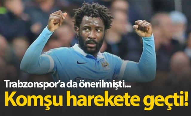 Trabzonspor'a da önerilen Bony için Rizespor harekete geçti