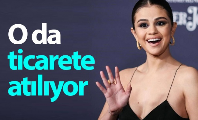 Selena Gomez kendi markasını kuruyor