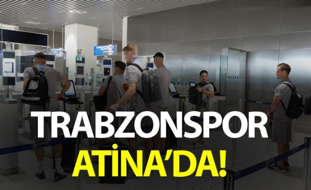Trabzonspor Atina'da
