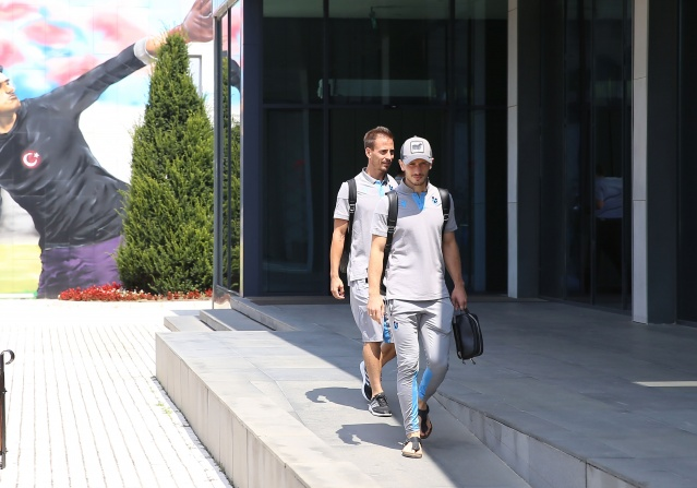 Trabzonspor Atina'ya vardı!