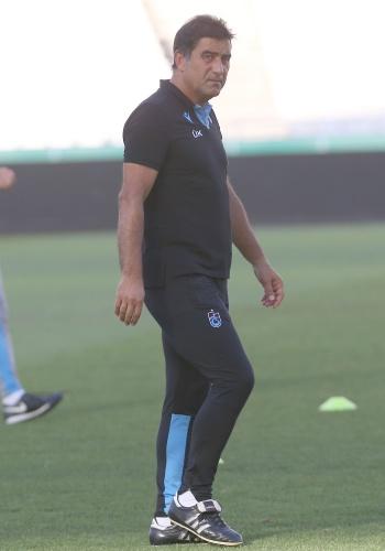 Teknik Direktör Ünal Karaman yönetiminde müsabakanın oynanacağı Olympiako Stadio Athinon'da gerçekleşen ve ilk 15 dakikası basın mensuplarına açık olan antrenmanda taktiksel çalışmalar yapıldı.