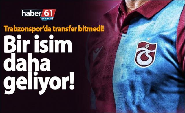 Trabzonspor transfer çalışmalarına devam ediyor