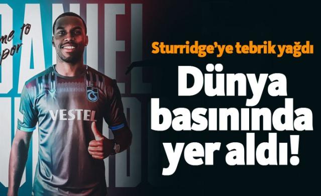 Daniel Sturridge transferi dünya basınında!