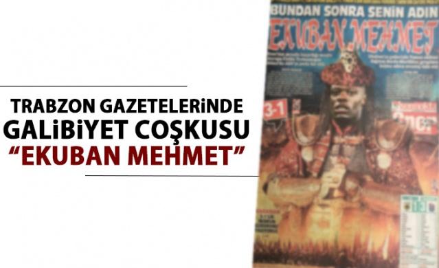 Trabzon Gazetelerinde AEK Galibiyeti coşkusu