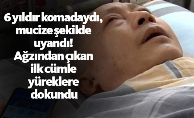 6 yıldır komadaydı, mucize şekilde uyandı! Ağzından çıkan ilk cümle yüreklere dokundu