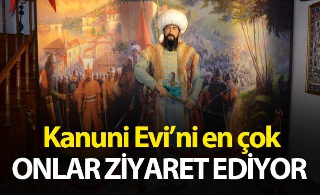 Kanuni Sultan Süleyman Osmanlı Kültür Evi'ni en çok onlar ziyaret ediyor.