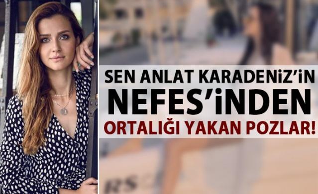 Sen Anlat Karadeniz!n Nefes'i İrem Helvacıoğlu'nun bikinili hali ortalığı yaktı!