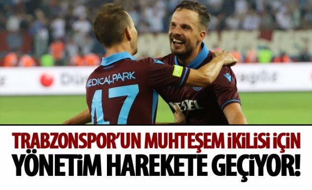 Trabzonspor'da muhteşem ikili geçit vermiyor!