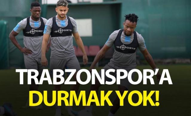 Trabzonspor'a durmak yok.