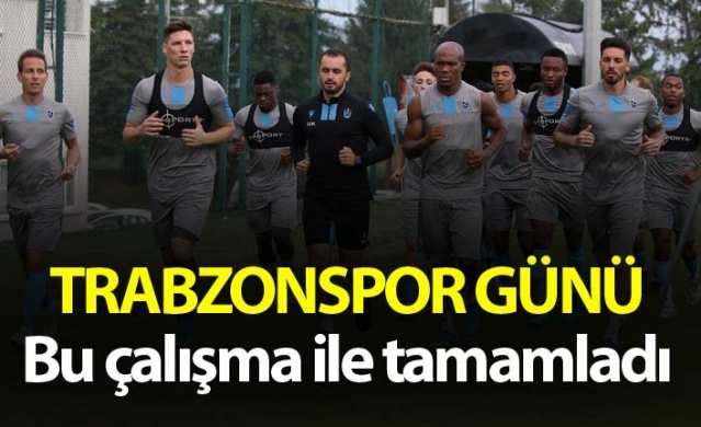 Trabzonspor günü böyle tamamladı