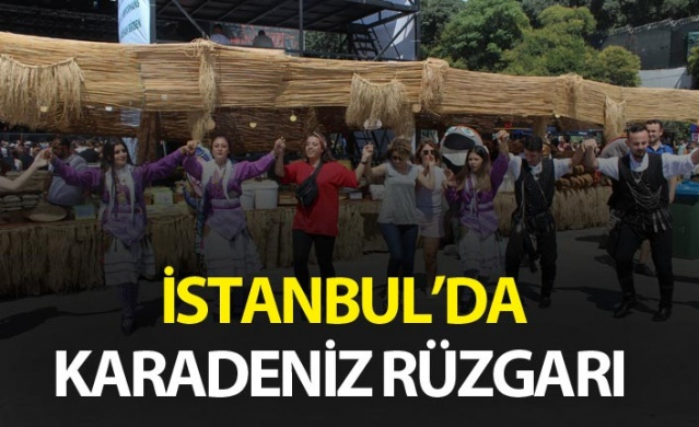 İstanbul'da Karadeniz rüzgarı