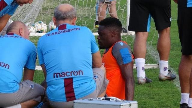 Caleb Ekuban:  Trabzonspor antrenmanında Fernandes ile ikili mücadelesinde sakatlanan ve sol ayak tarak kemiği kırılan Ekuban 17 Eylül'de amliyat oldu.  Ganalı futbolcu 2 ay sahalardan uzak kalacak